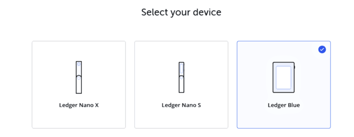 The Ledger Live app walks users through device setup in minutes