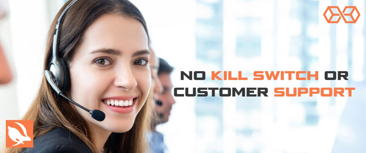 No Kill Switch or Customer Support - Source: Shutterstock.com