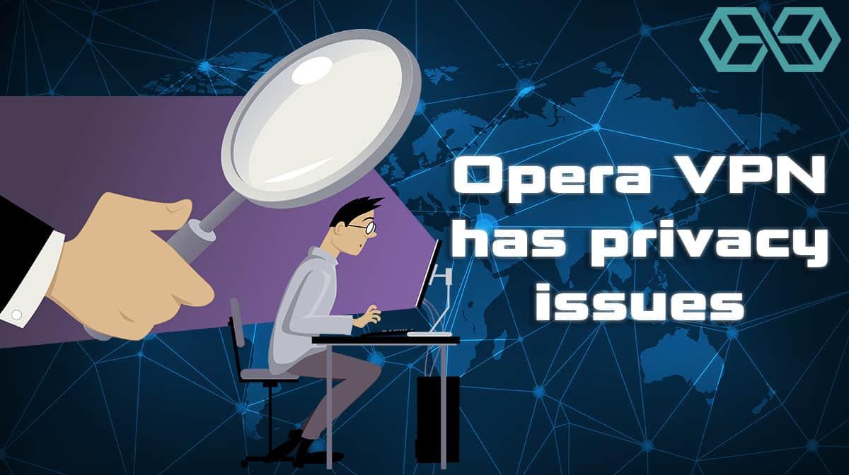 Opera VPN Falling Short of Private