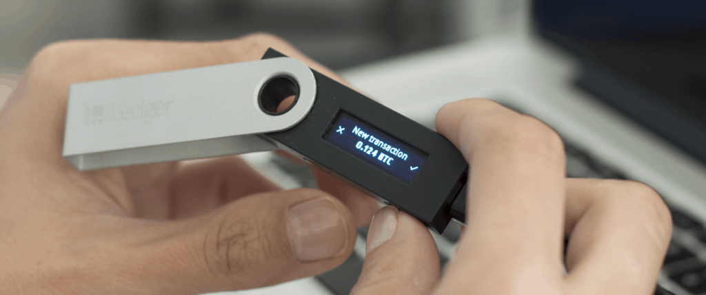 The Ledger Nano S is a compact, easy to use device