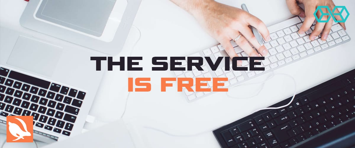The Service is Free