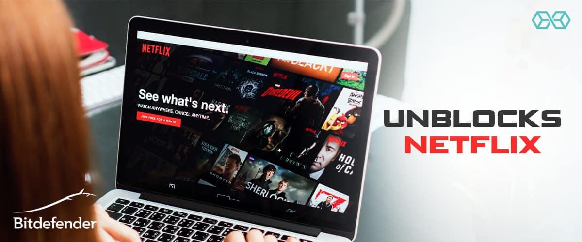 Unblocks Netflix - Source: Shutterstock.com