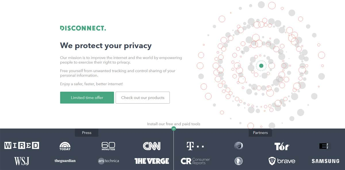 Disconnect VPN review.
