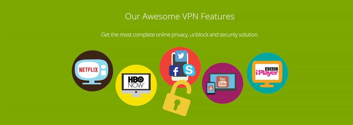 Our Awesome VPN Features