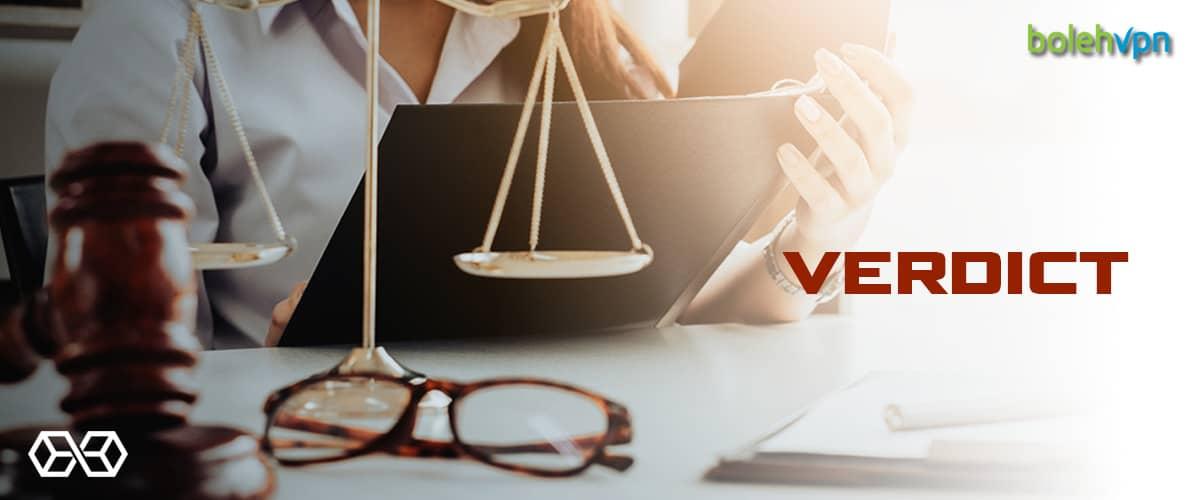 Verdict BolehVPN - Source: Shutterstock.com