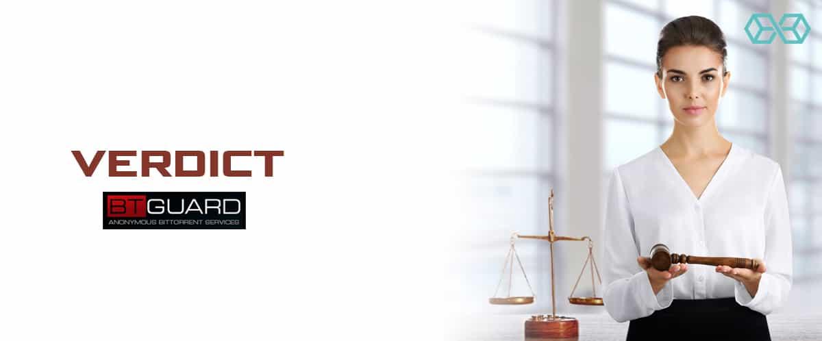 Verdict BTGuard - Source: Shutterstock.com