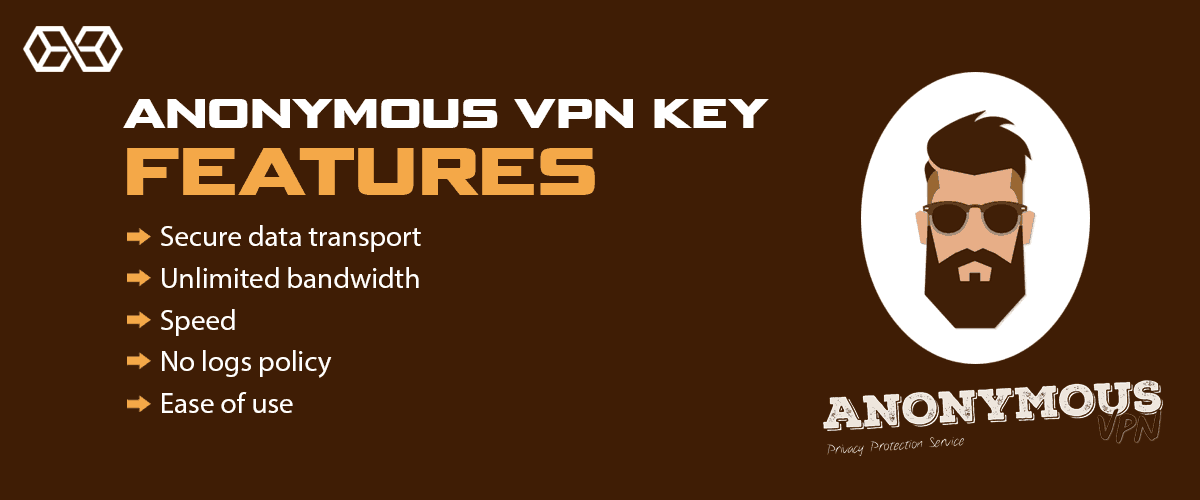 Anonymous VPN Key Features