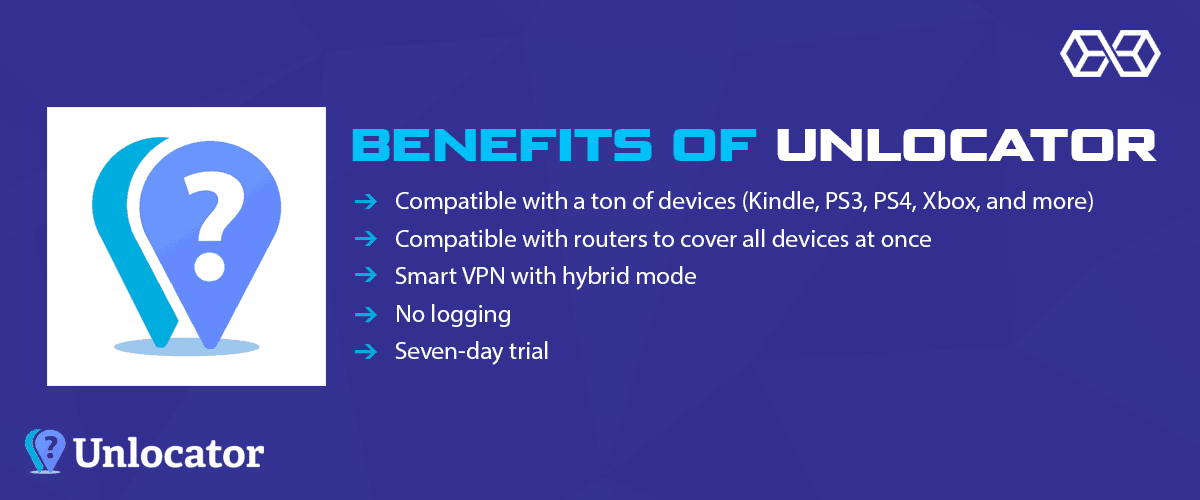 Benefits of Unlocator