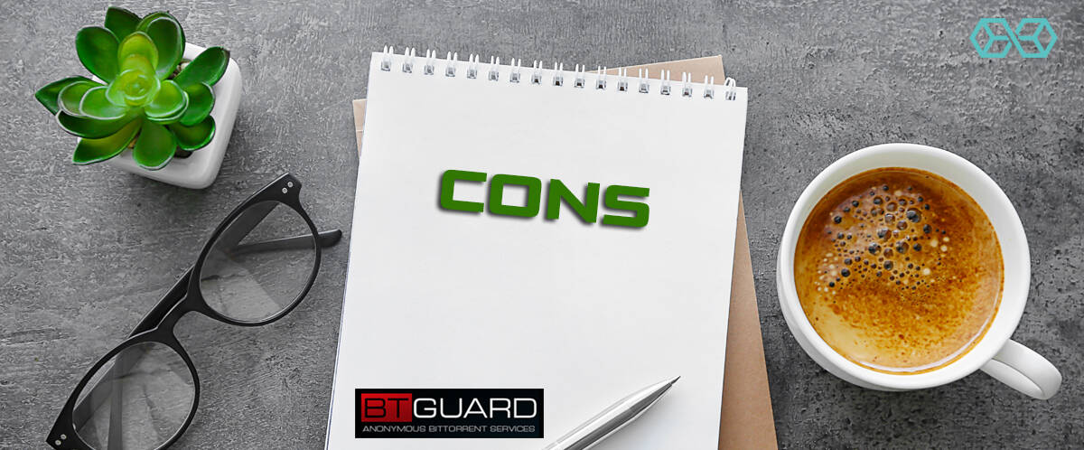 Cons BTGuard - Source: Shutterstock.com