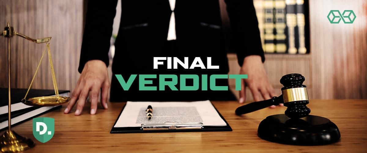 Final Verdict - Disconnect VPN - Source: Shutterstock.com