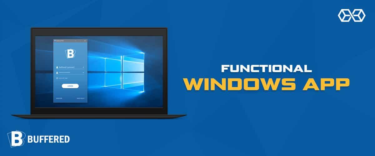 Functional Windows App