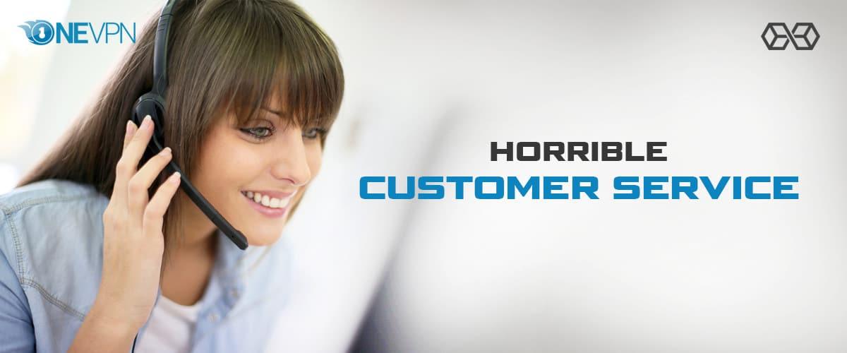Horrible Customer Service - Source: Shutterstock.com