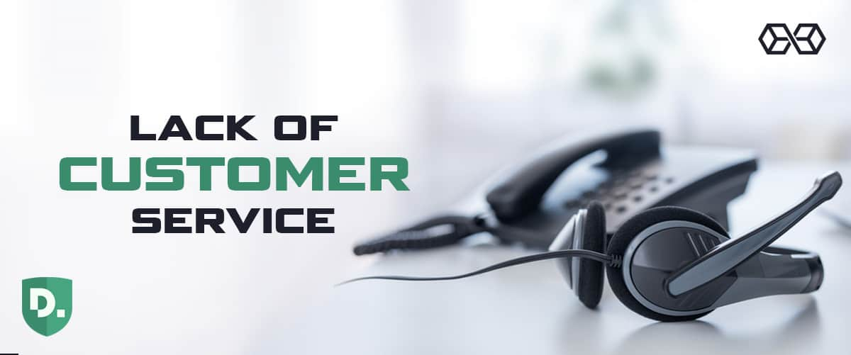 Lack of Customer Service - Disconnect VPN - Source: Shutterstock.com