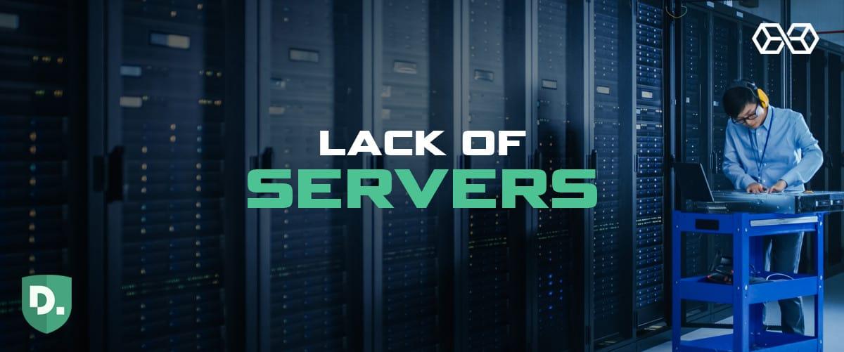 Lack of Servers - Disconnect VPN - Source: Shutterstock.com