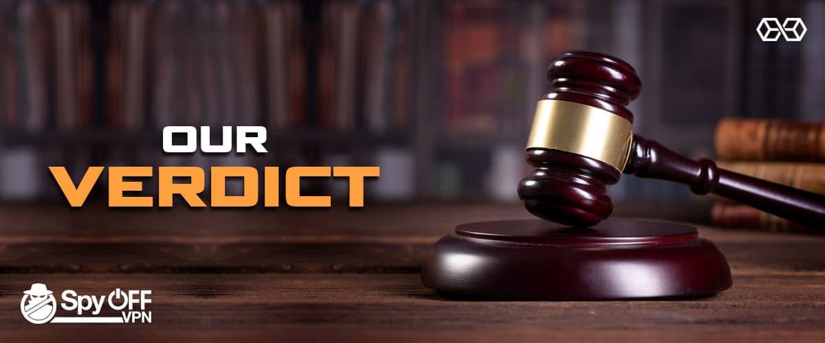 Our Verdict For Spyoff VPN - Source: Shutterstock.com