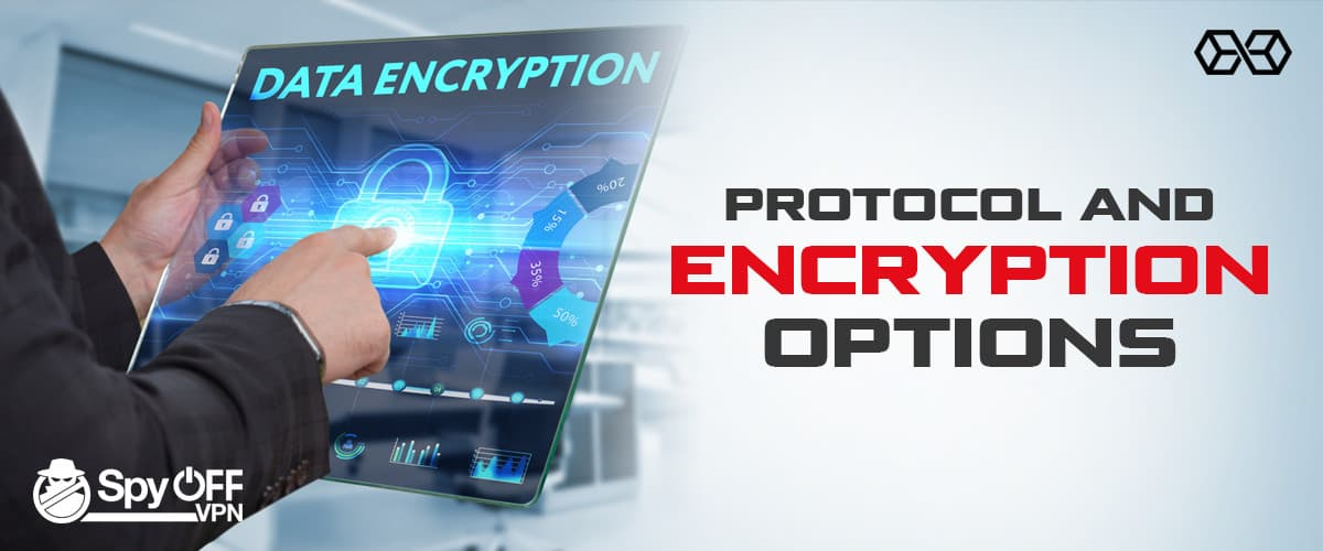 Protocol and Encryption Options Spyoff VPN - Source: Shutterstock.com