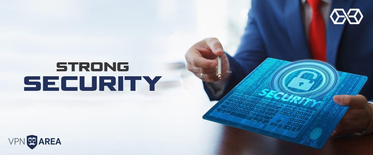 Strong Security VPNArea - Source: Shutterstock.com
