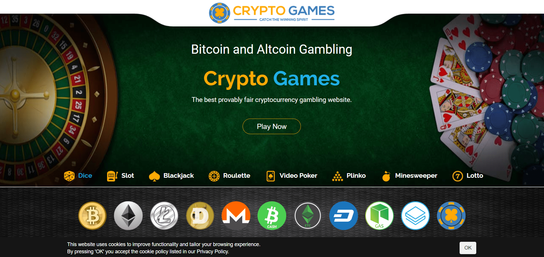 best gambling cryptocurrency